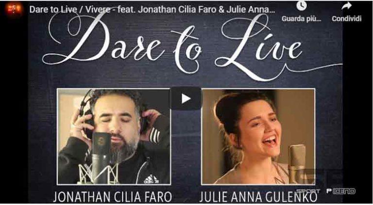Jonathan Cilia-Faro: il suo messaggio di speranza a tutti gli italiani con Dare to Live / Vivere in coppia con Julie Anna Gulenko