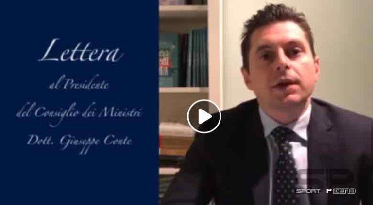 Lettera aperta del Sindaco Marco Fioravanti al Presidente del Consiglio Giuseppe Conte
