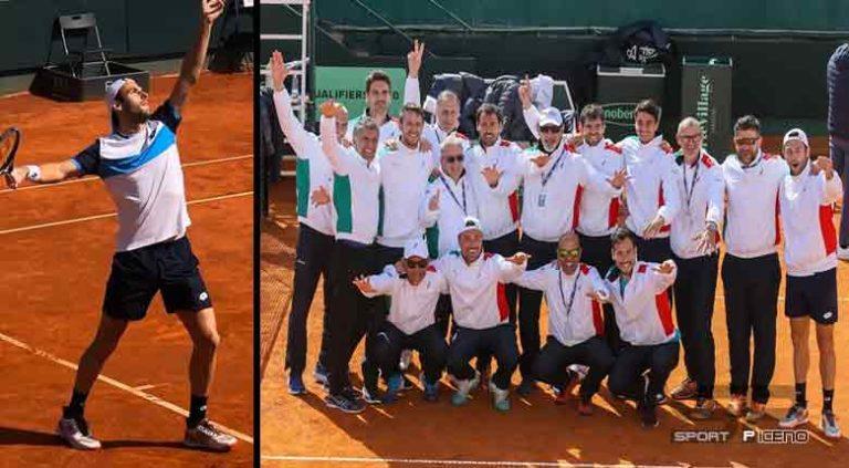 Debutto Azzurro con vittoria per Stefano Travaglia in Coppa Davis
