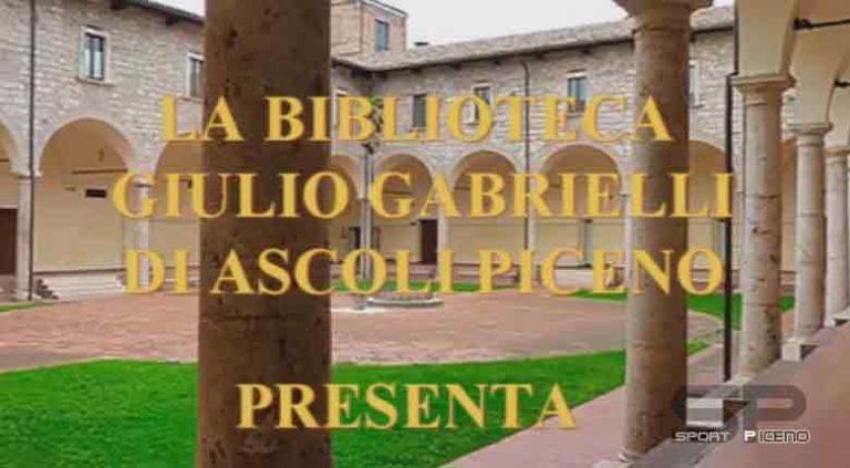 Ascoli Piceno, LA BIBLIOTECA COMUNALE ENTRA NELLE CASE ATTRAVERSO IL WEB