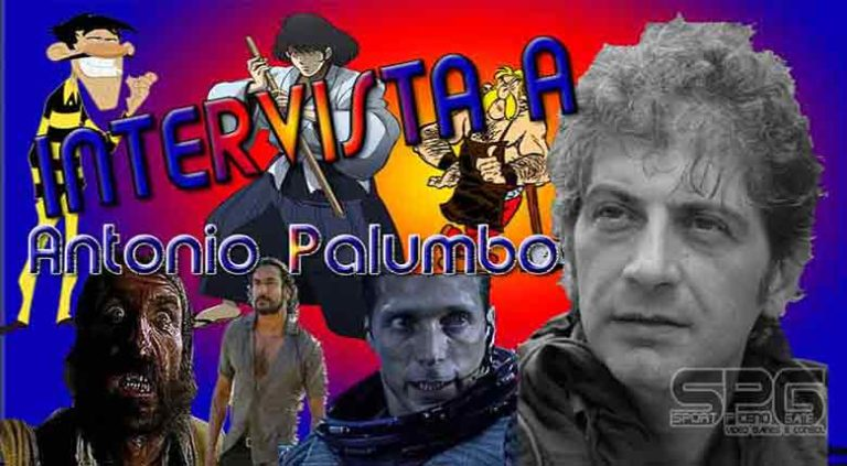 intervista a Antonio Palumbo, doppiatore di, Goemon Ishikawa XIII, e Automatix ,e Sayid Jarrah