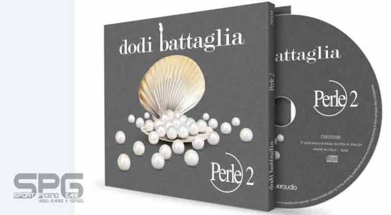 """DODI BATTAGLIA  """"PERLE 2""""  L'ALBUM LIVE IN EDIZIONE LIMITATA E AUTOGRAFATA"""