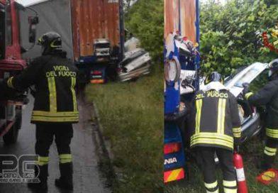 Vigili del Fuoco – Ancona, Incidente stradale