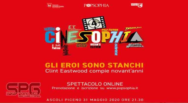 Spettacolo online da Ascoli Piceno per i 90 anni di Clint Eastwood