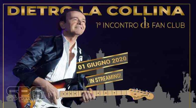 "DODI BATTAGLIA  ""DIETRO LA COLLINA – DODI DAY IN STREAMING"""