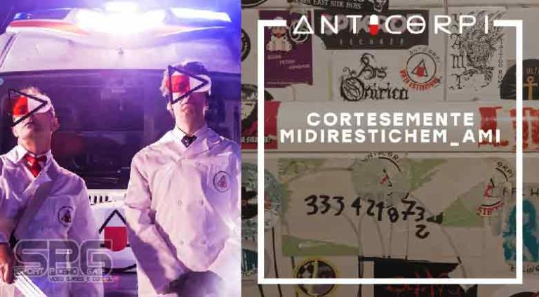"""""""CORTESEMENTE (Mi diresti che m'ami?)""""  il nuovo singolo della band electropop  ANTICORPI"""