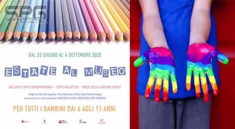 Centro estivo per bambini a cura dei Musei Civici di Ascoli Piceno