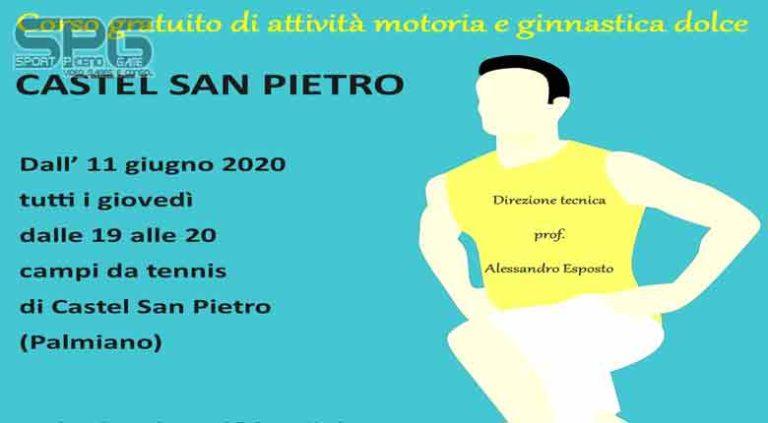 """Prosegue """"Movimento & Salute"""" a  Palmiano  Ogni giovedì corso gratuito di attività motoria e ginnastica dolce."""
