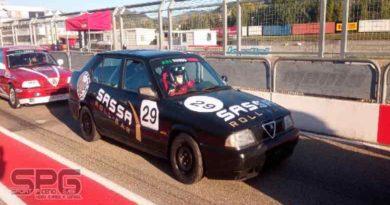 Sassa roll-bar torna in pista con l'Alfa 33, il 28 giugno a  Magione con il pilota ascolano, Pasqualino Amodeo