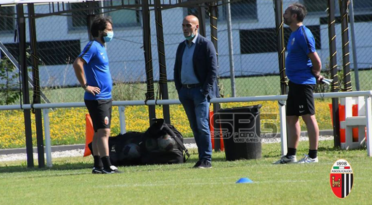 Ascoli Calcio, alle 18 allenamento al Picchio Village con la testa al Cosenza.