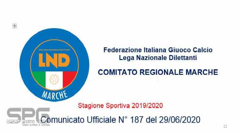 Verdetti promozioni LND A.S.D. CALCIO ATLETICO ASCOLI promossa in Eccellenza e la  A.S.D. ORSINI MONTICELLI CALCIO sale in prima categoria