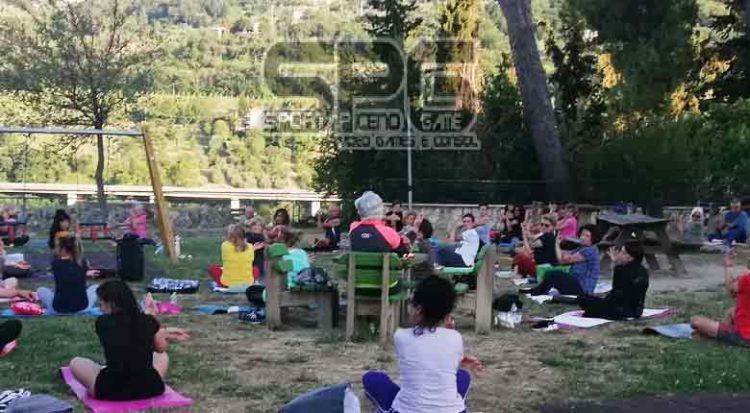"""Ancora Aperte Le Iscrizioni Per """"summer Yoga"""" All'annunziata Ad Ascoli"""