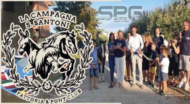 Grande entusiasmo a Porto Sant'Elpidio per l'inaugurazione della Campagna S. Santoni – Fattoria Pony & Club