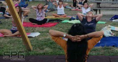 """Più di 90 iscritti per """"Summer Yoga"""" all'Annunziata ad Ascoli"""