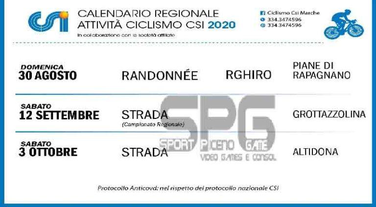 CSI Marche: tre appuntamenti a Piane di Rapagnano, Grottazzolina e Altidona
