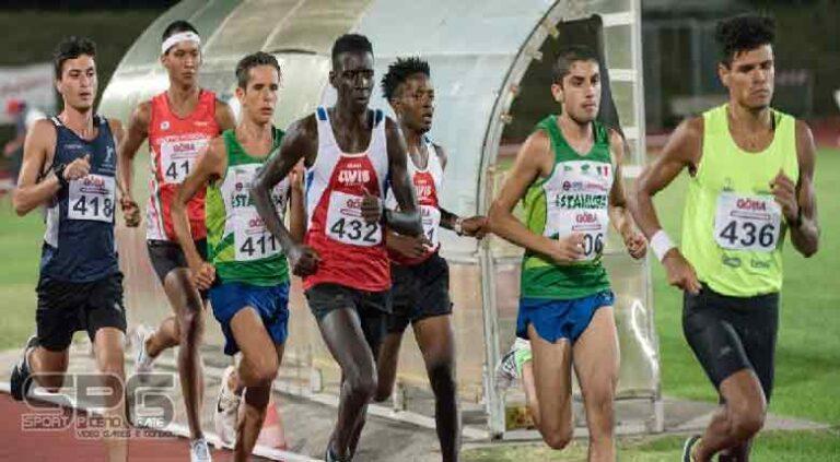 Nuovo record italiano per Ndiaga Dieng Il mezzofondista della Nazionale FISDIR corre i 1500 in 3'56″32