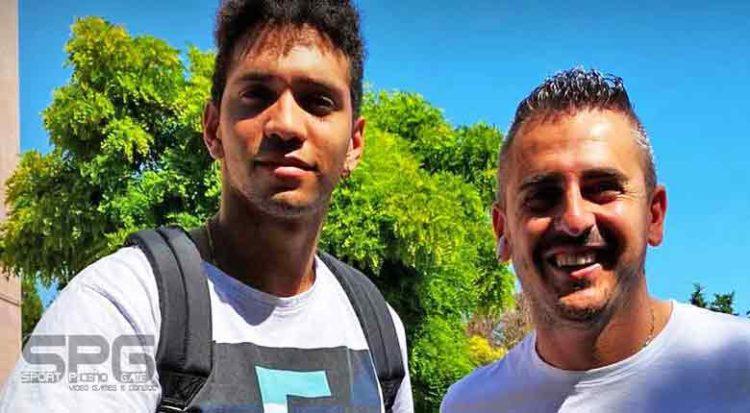 Pallavolo Serie A 2020 21grottazzolina Accoglie Il Talento Classe 2000 Alex Reyes.