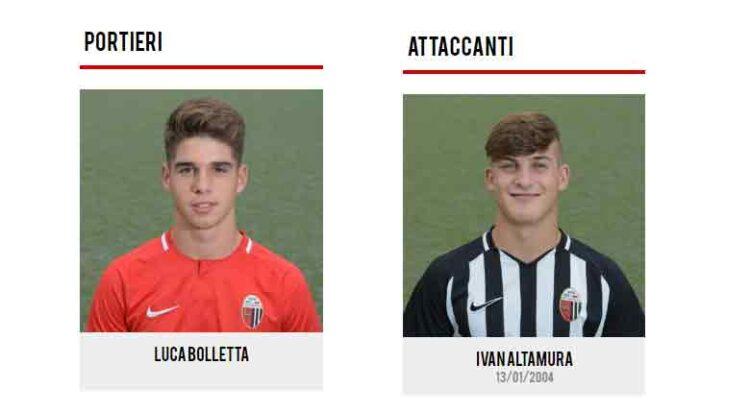 Under 16 Premiati Bolletta E Altamura Dell'ascoli