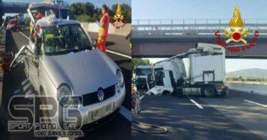 Vigili Del Fuoco A14, Incidente Stradale