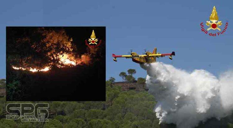 Vigili Del Fuoco Genga, Incendio Bosco