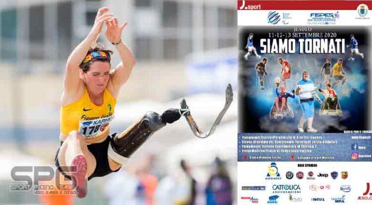 Atletica Paralimpica, Assoluti Jesolo