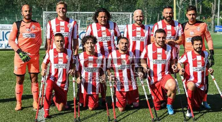 Calcio Amputati Il Vicenza In Testa Alla Classifica Di Campionato