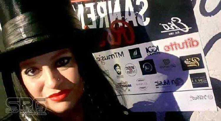 Gipsy Fiorucci Alle Finali Di Sanremo Rock & Trend Festival