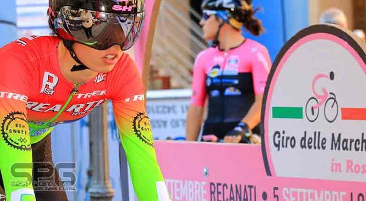 Giro Delle Marche In Rosa, Bujak, Fidanza ,cipressi, Le Più Veloci