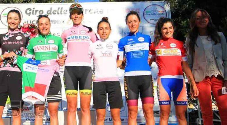 Giro Delle Marche In Rosa, Eugenia Bujak Reginetta Ad Offida