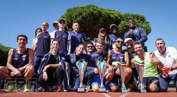 I Societari Di Atletica Paralimpica Per La Prima Volta Al Tre Fontane Di Roma