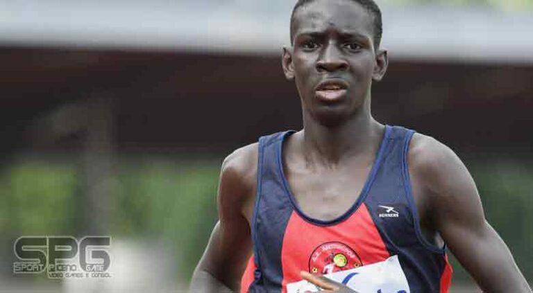 Nuovo record italiano per Ndiaga Dieng