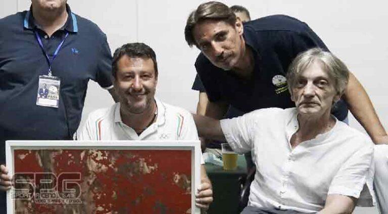 Forte Malatesta 'Gli amici del criminale Cesare Battisti' di Adriano Venturelli