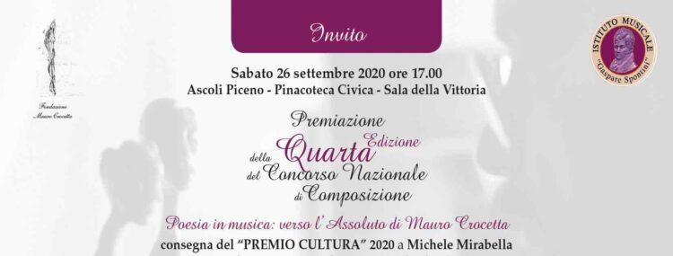 """""""poesia In Musica Verso L'assoluto"""