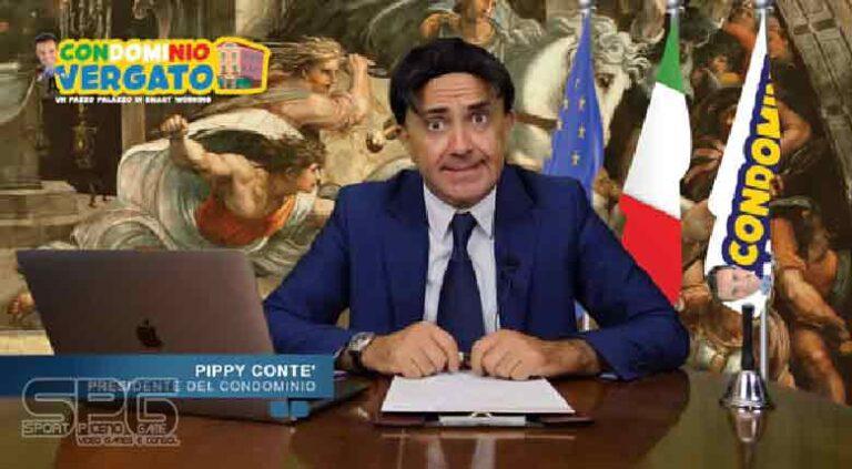 """SANDRO VERGATO     IN PRIMA TV ASSOLUTA  """"CONDOMINIO VERGATO"""" – Un Pazzo Palazzo in Smart Working"""