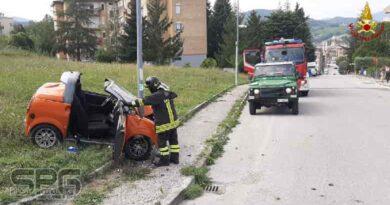 Vigili Del Fuoco Fabriano, Incidente Stradale