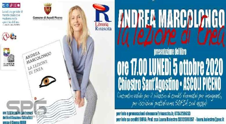 """Andrea Marcolongo Ospite Del Liceo Scientifico """"antonio Orsini"""""""