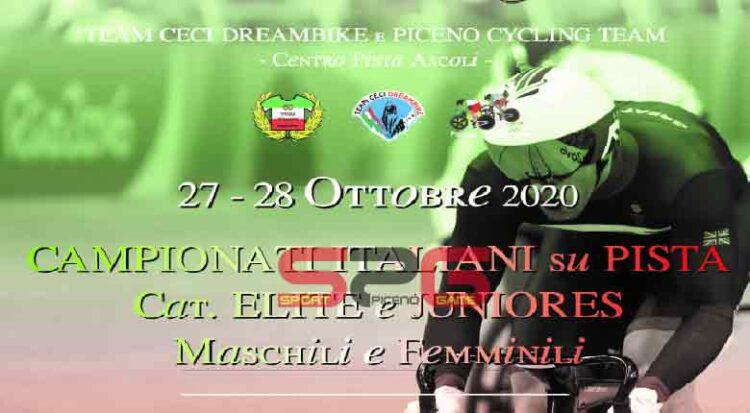 Al Velodromo Monticelli Di Ascoli Piceno I Tricolori Su Pista élite E Juniores Maschili E Femminili