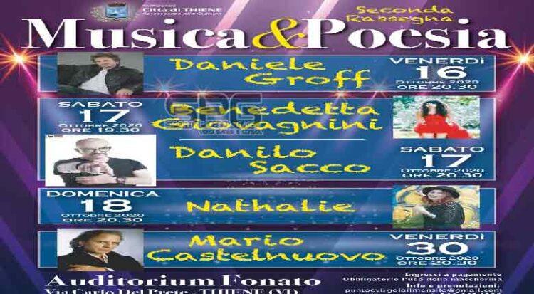 Musica&poesia Il Programma Completo Della Seconda Edizione