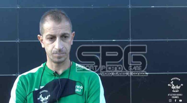 Atletico Ascoli esonerato Stefano Filippini.