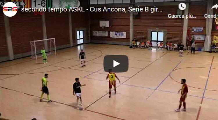 Cus Ancona Super La Futsal Askl Per 7 2