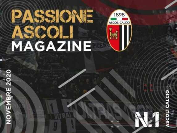 Magazine Ufficiale Bianconero Denominato Passione Ascoli