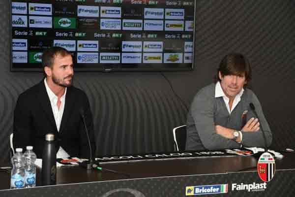 Conferenza DS Polito e Mister Sottil.