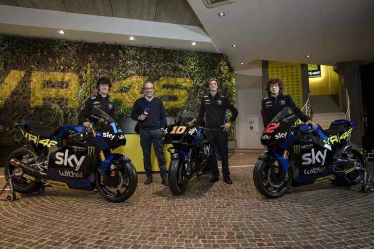X FACTOR – S2021, SKY RACING TEAM VR46, MOTOGP E MOTO2