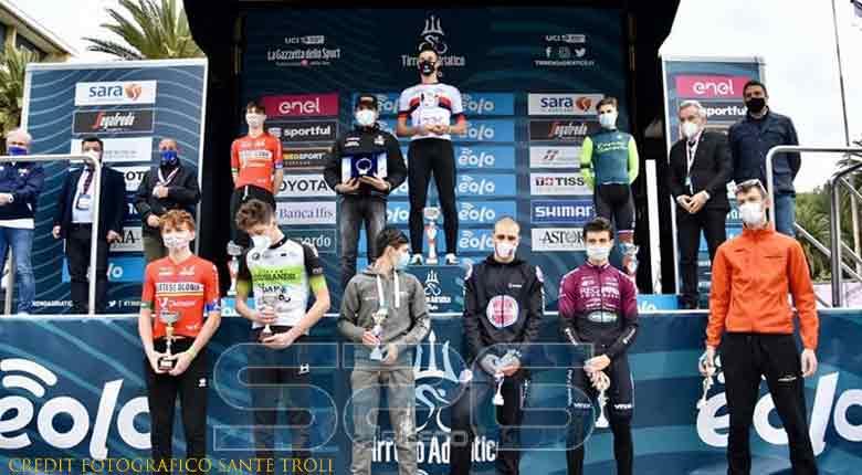 grande successo per il tandem cronometro juniores – Tirreno/Adriatico