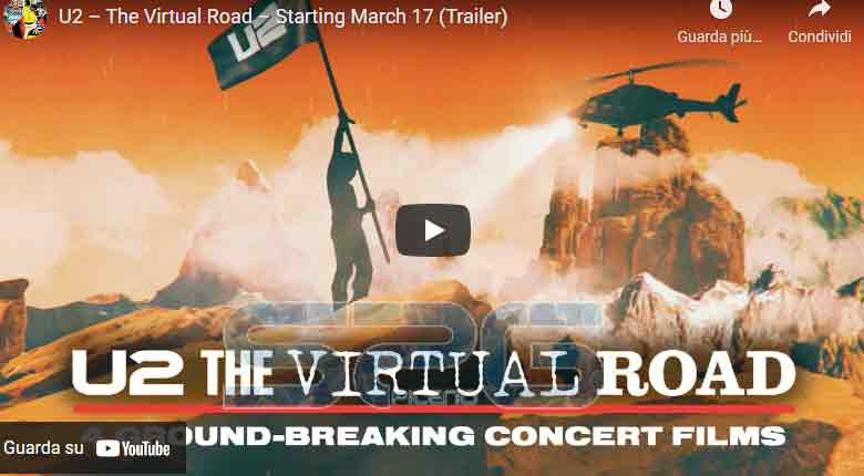 U2 – The Virtual Road – Starting March 17 (Trailer)