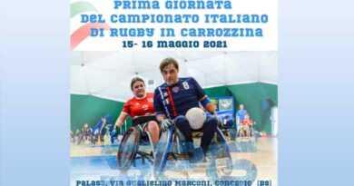 Rugby in carrozzina: al via da Concesio (BS) il Campionato Italiano 2021